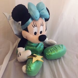 Disney Store Tinker Belle Minnie Mouse Plush